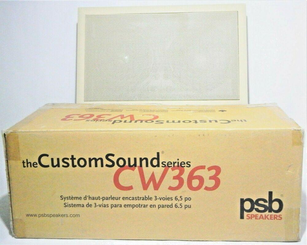PSB CW363 Inwall Flushmount 3way Speaker Sound System