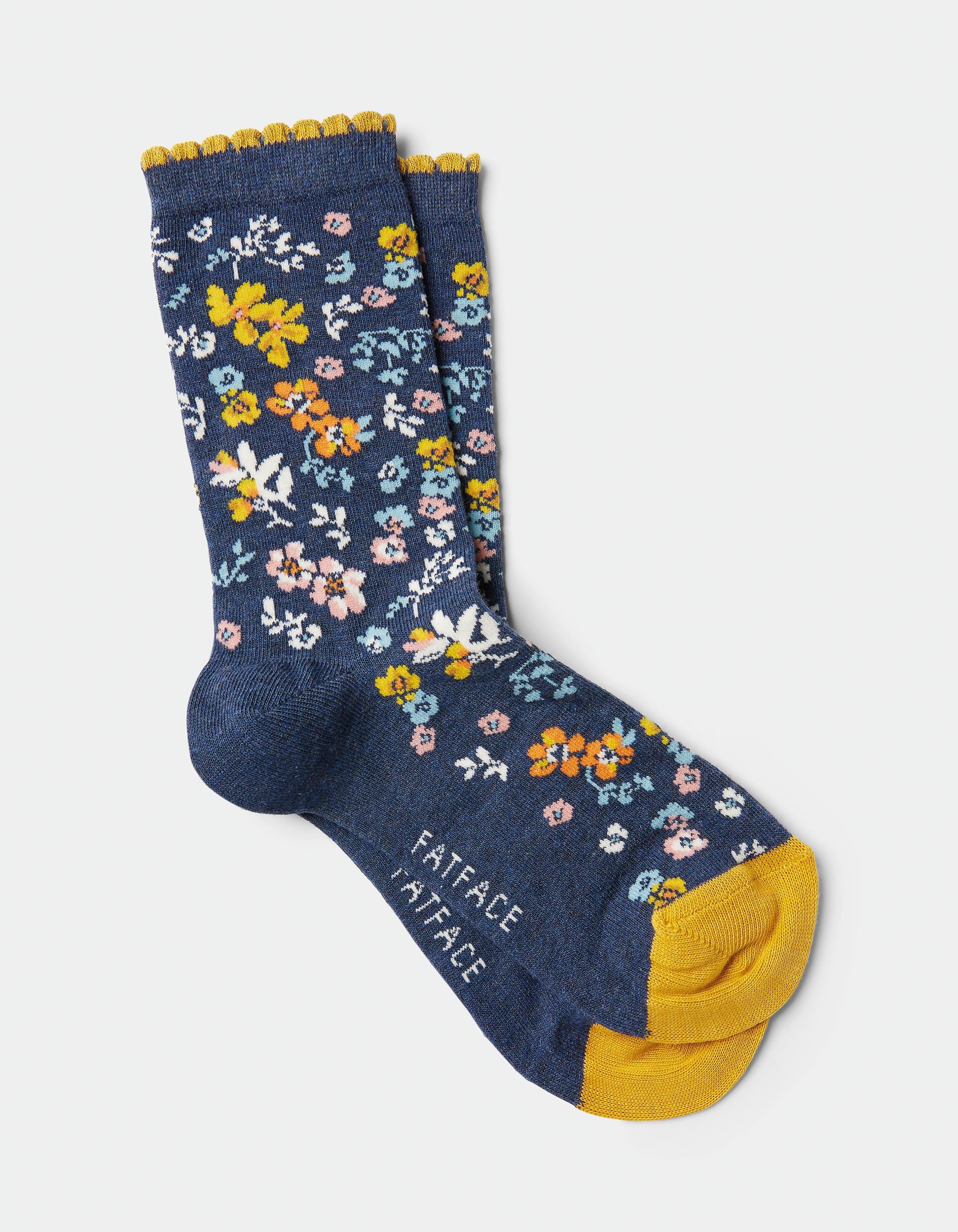 NEW w Tags Ships FREE USA Blue Q Socks Women/'s Crew // /& Ankle  Funny Socks