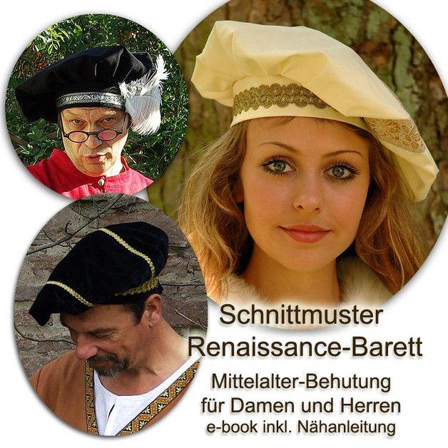 Mittelalter Barett Behutung Schnittmuster e-book   Mittelalter ...