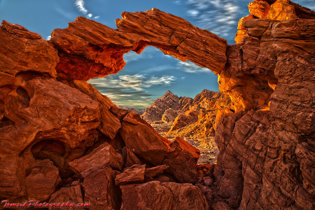 Arch At Valley Of Fire Las Vegas Nv Travel Pinterest