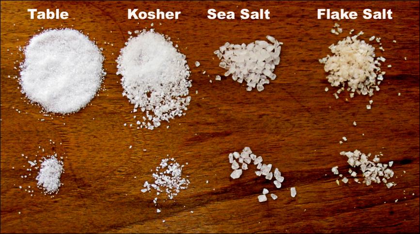 Kosher Salt Vs Sea Salt Google Search In 2020 Salt Salt