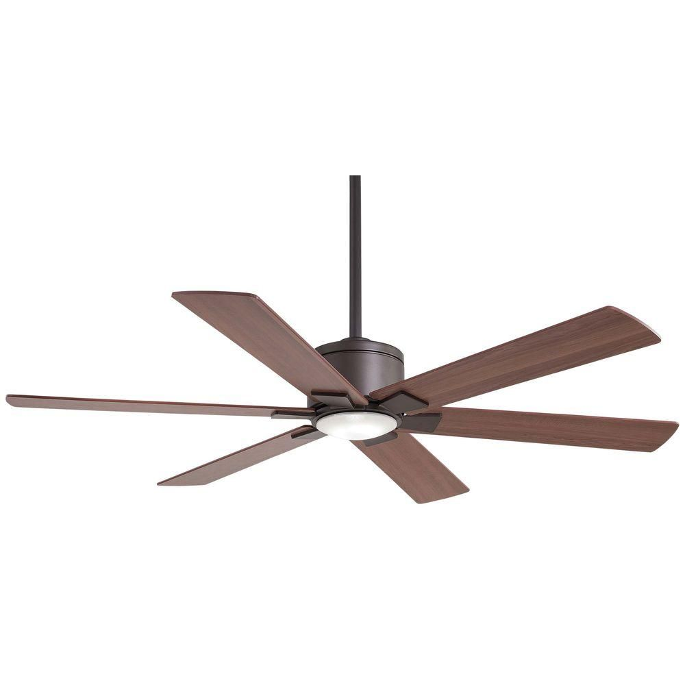 Home Decorators Collection Renwick 54 In Integrated Led Indoor Oil Rubbed Bronze Ceiling Fan With Remote Control 14436 The Home Depot Bronze Ceiling Fan Ceiling Fan Ceiling Fan With Remote
