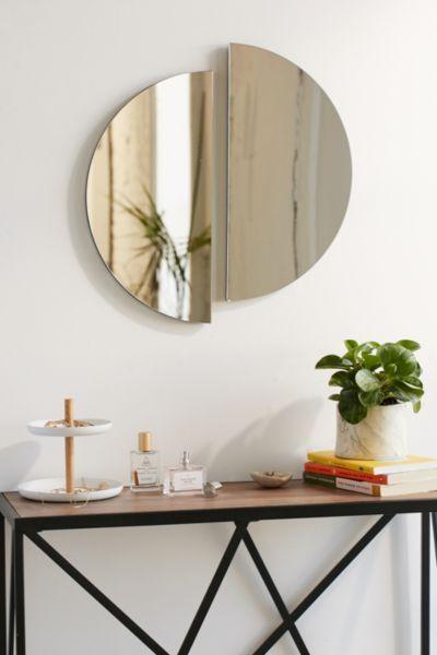 Half-Circle Mirror  Home decor, Mirror decor, Living decor