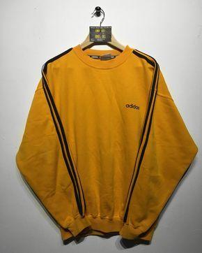 Perder la paciencia Samuel buque de vapor  buy > yellow adidas sweatshirt vintage, Up to 75% OFF