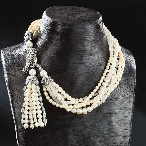 Amy Kahn Russell%u2019s Limited Edition Tassel Necklace from Uno Alla Volta on Catalog Spree, my personal digital mall.