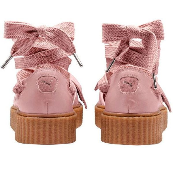 96d34d47718ee9 Fenty Puma By Rihanna Bow Creeper Sandals ( 170) ❤ liked on Polyvore  featuring shoes