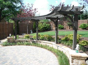arbor designs arbor landscape design ideas pictures remodel and decor