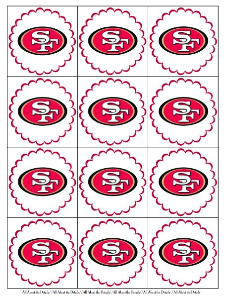 All About The Details Freebie Big Game Printables