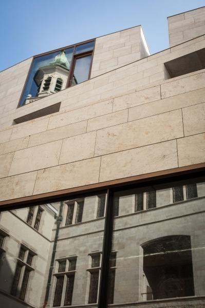 Architect Dugardyn - architecturaal ontwerp - opvolging van de restauratie. Declerck-Daels, Architecten conceptschetsen - freelance medewerking. #declerckdaelsarchitecten #tafelrond #tafelrondleuven #architectdugardeyn #architectuur #renovatie #leuven