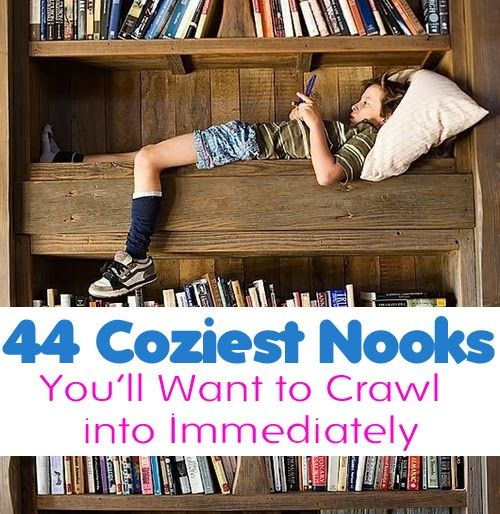 Diy Projects: 43+ Cozy Nooks You'll Want To Crawl Into Immediately