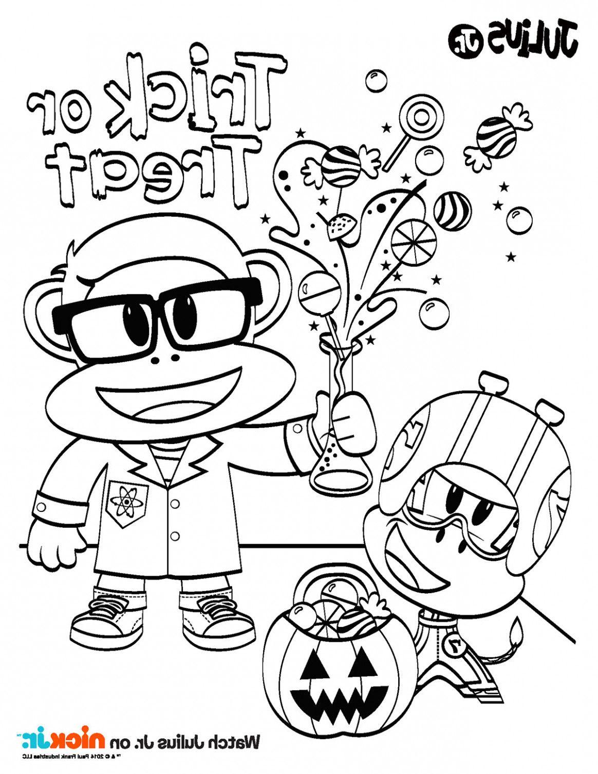 Disney Jr Coloring Pages Halloween - Digital Addiction