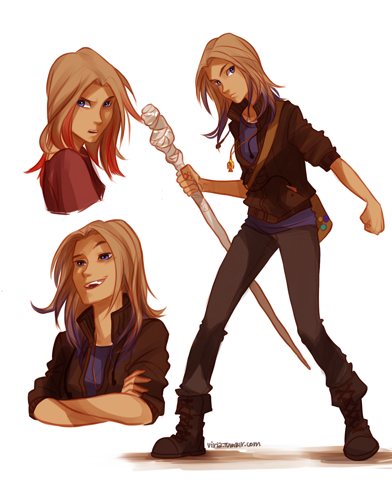 Sadie Kane I absolutely HAD to look up fan art for these ...
