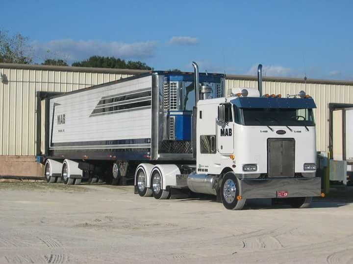 Peterbilt 362   petes and wagons   Big rig trucks, Peterbilt