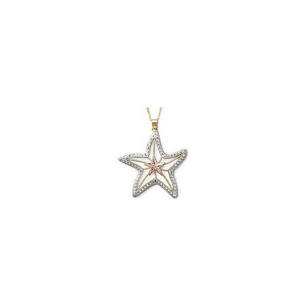 10k tri color gold starfish pendant necklace 230 liked on 10k tri color gold starfish pendant necklace 230 liked on polyvore featuring mozeypictures Choice Image