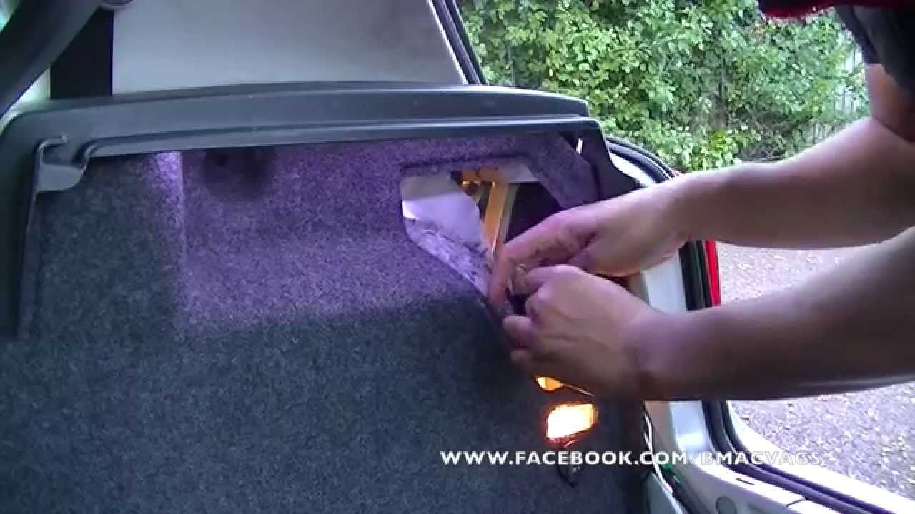How To Install Led Strip Light In To Your Boot Trunk Installing Led Strips Installing Led Strip Lights Led Light Installation