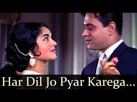 Sangam Har Dil Jo Pyar Karega O Mukesh Lata Mangeshkar Love Songs Hindi Lata Mangeshkar Hindi Old Songs