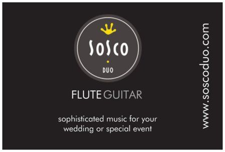 SoSco Flute & Guitar Duo performs sophisticated music for Phoenix-area weddings & special events #livemusic #Phoenix #musicians