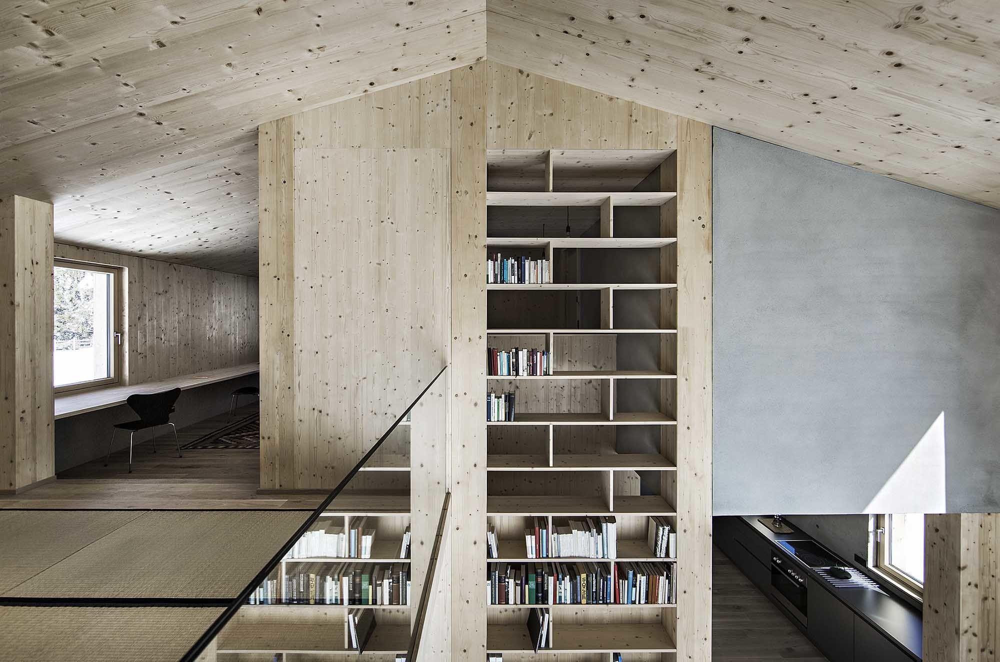 Sägerauer Rückzugsort - Wohnhaus von LP Architektur in Embach ...