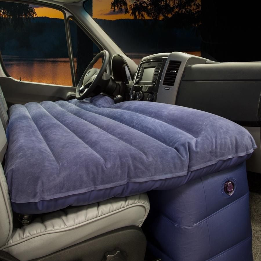 Inflatable Air Bed Bedding Campervan Interior