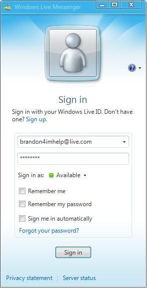 How to sign up for windows live messenger | norton antivirus.