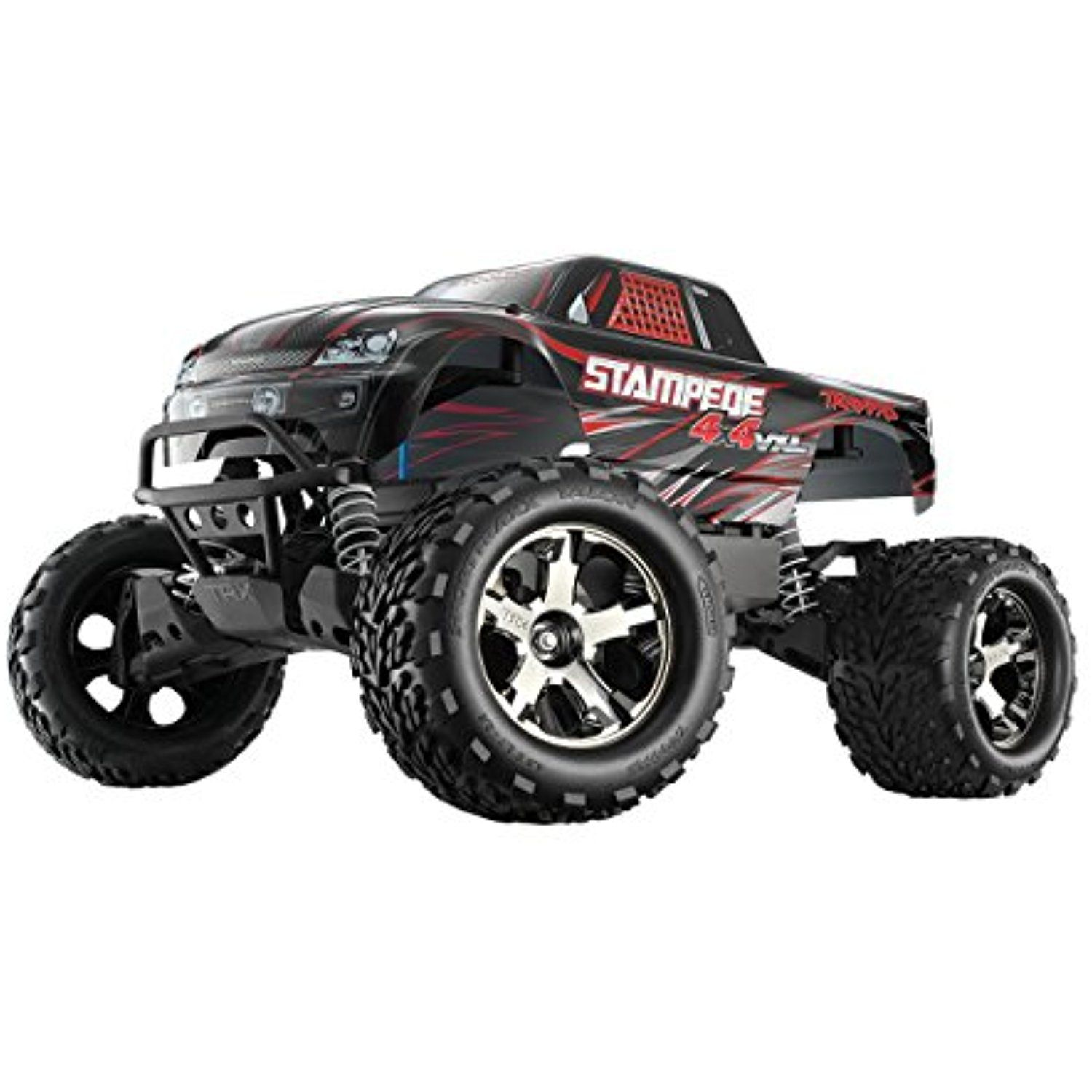 Traxxas Stampede 4X4 VXL 1 10 Scale Monster Truck with TQi 2 4GHz radio