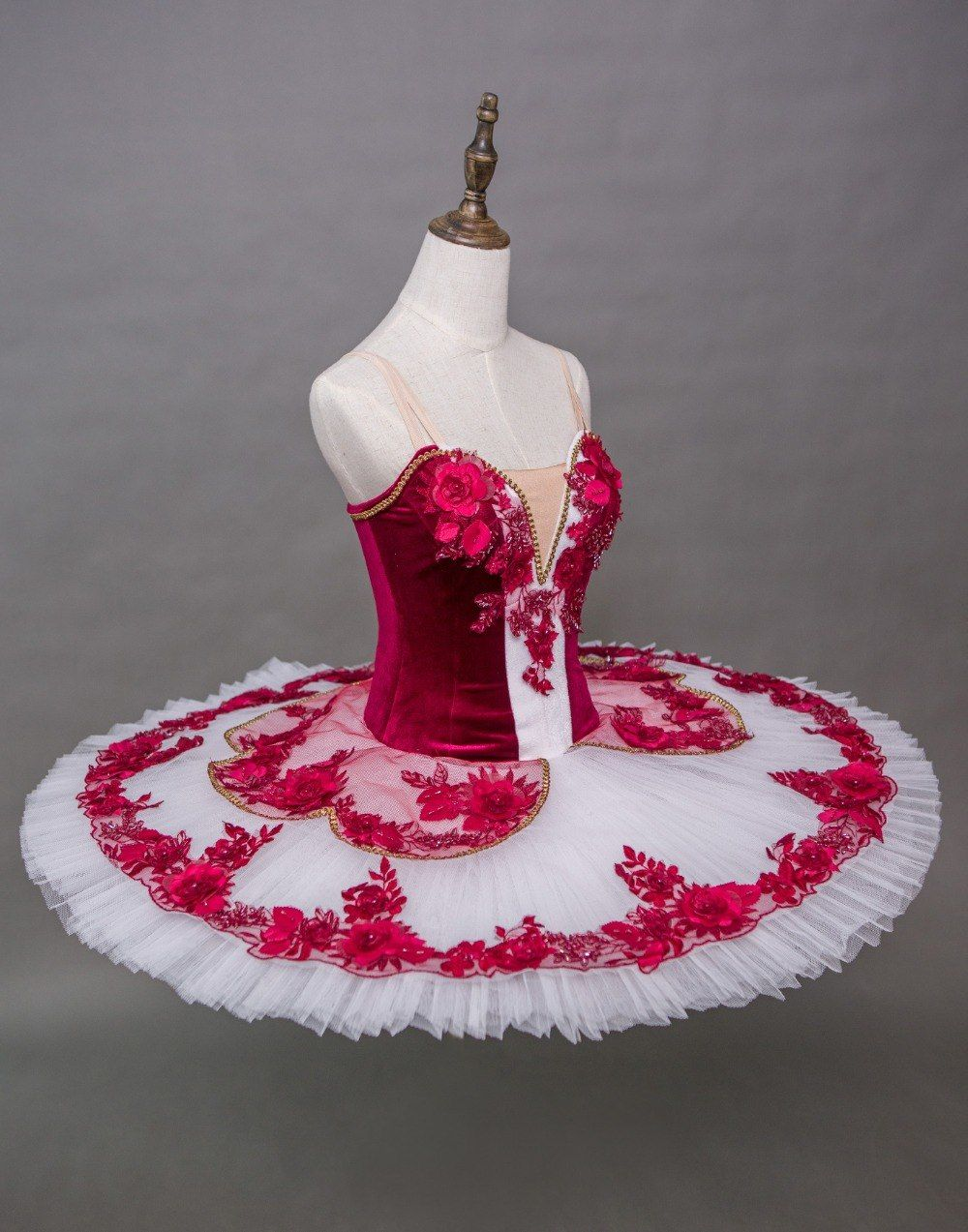 dca53e5ed Adult Professional Ballet Tutus Women Coppelia Classical Ballet Tutu  Pancake Tutu Dress red Paquita, Kitri Paquita Don Quixote