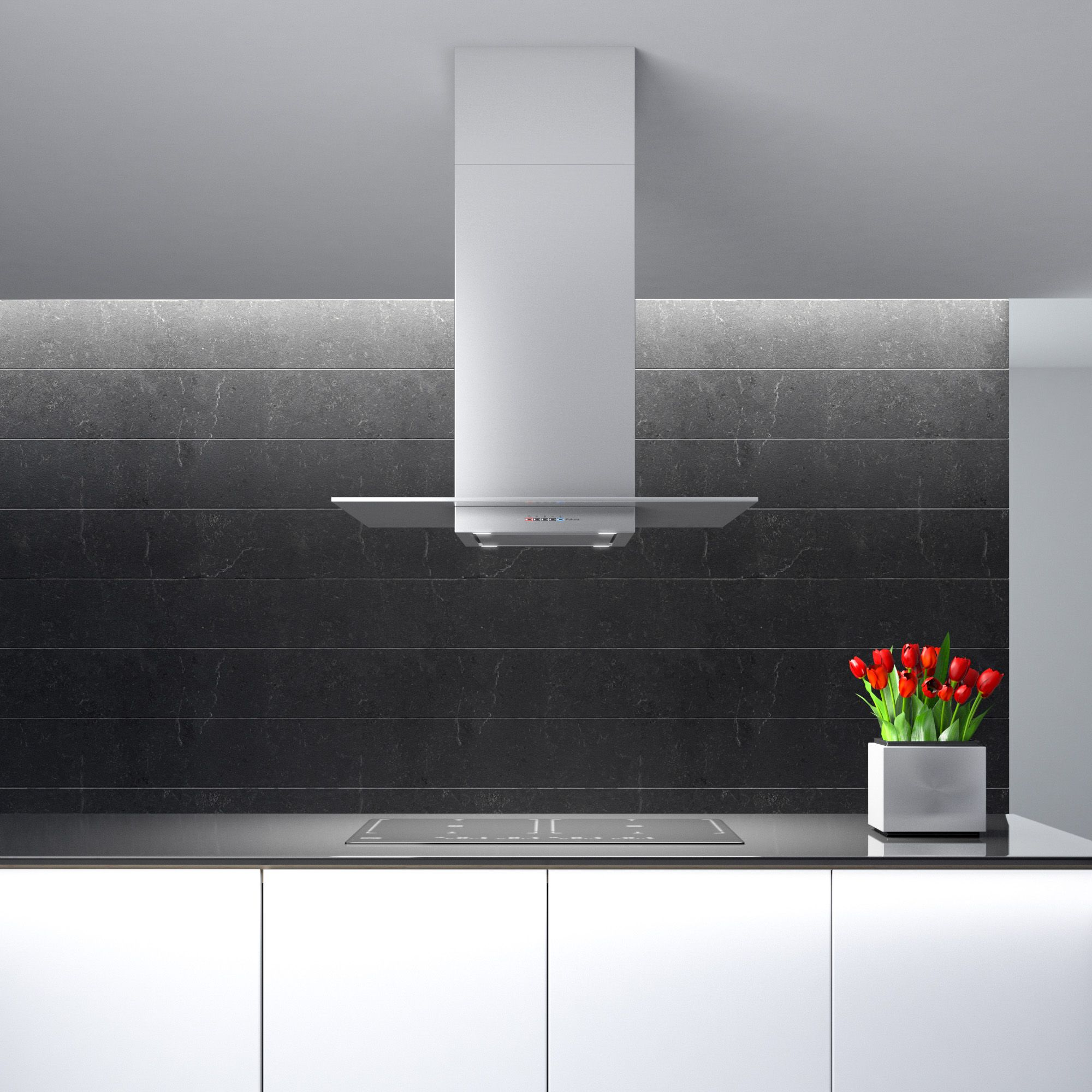 Futuro Futuro 36 Inch Loft Inox Island Range Hood In 2020 Island Range Hood Beautiful Kitchens Home Decor