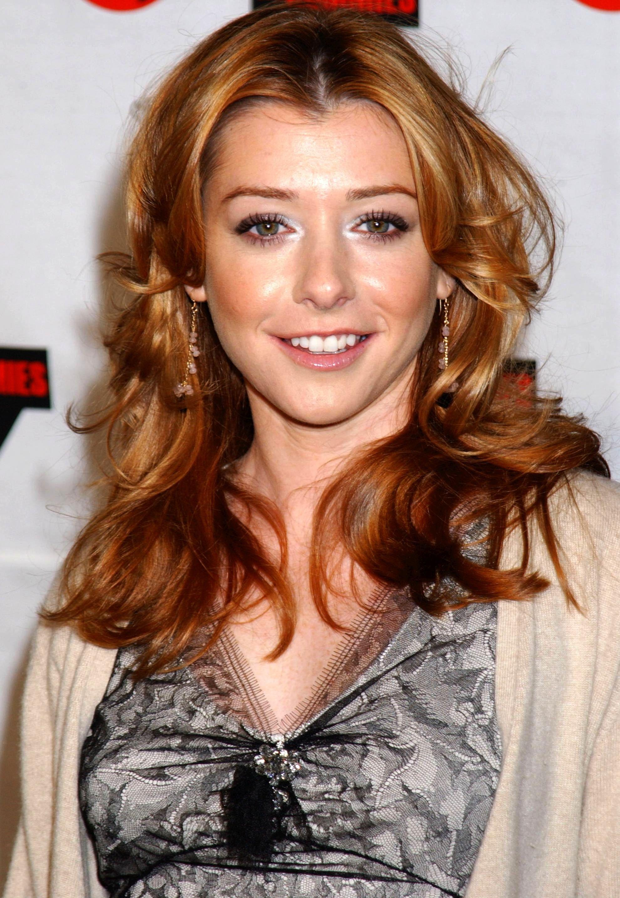 Alyson Hannigan Beautiful redhead, redhead
