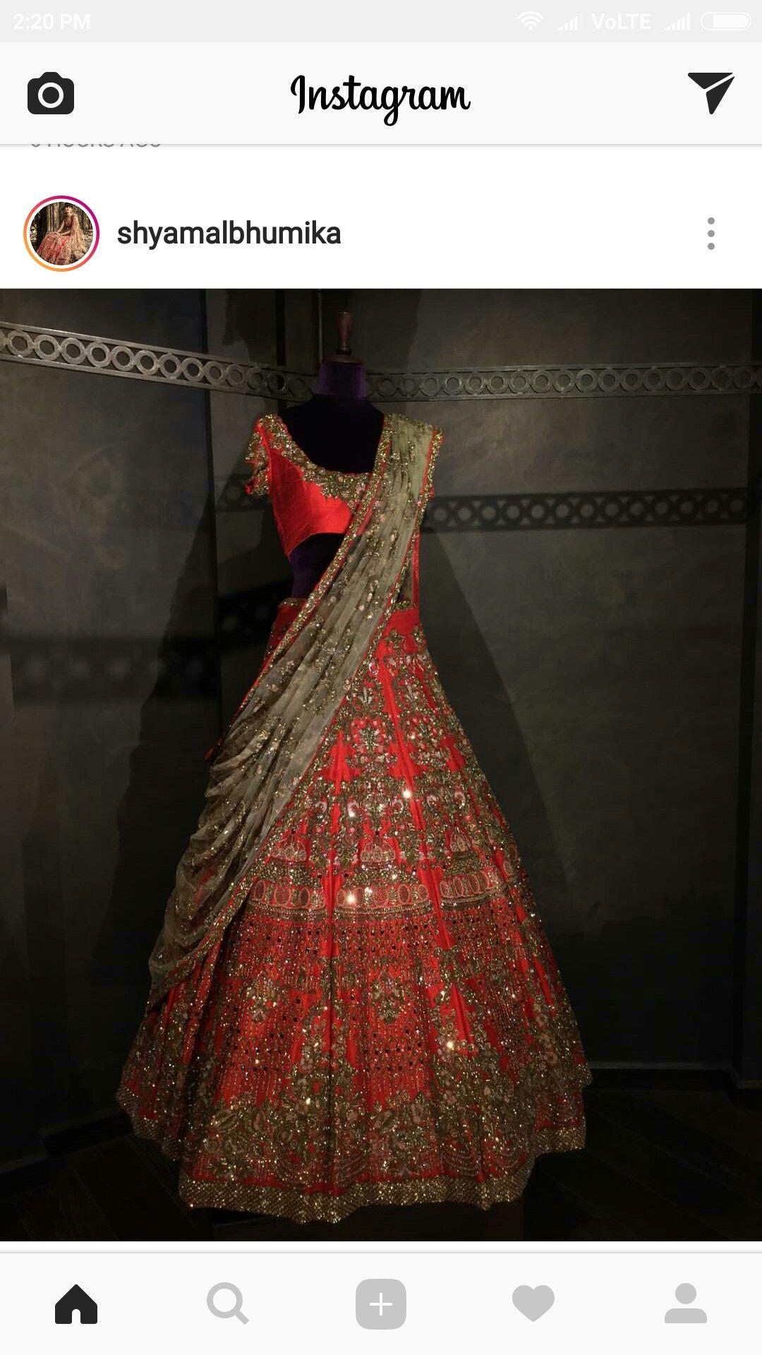 Reception Lehenga Indian bridal lehenga, Designer bridal