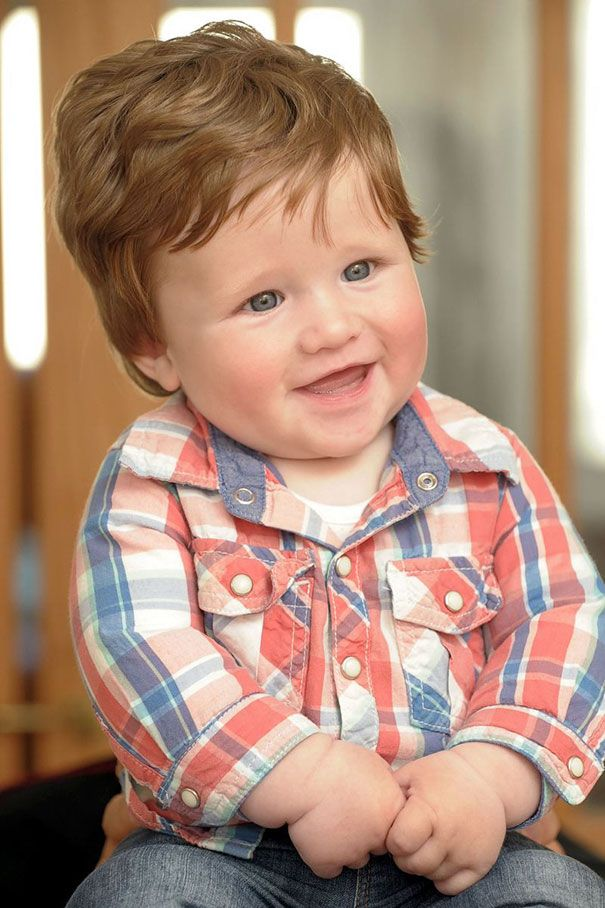 Parents Share Pics Of Babies Born With Full Heads Of Hair 425 Pics Baby Boy Hairstyles Baby Girl Hairstyles Baby Girl Hair