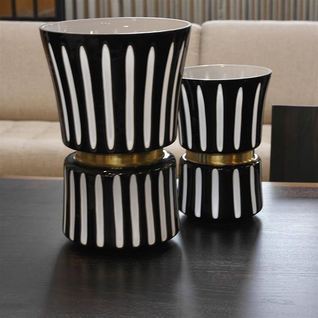 Durban Black and White Vases #furniture #interiordesign #desmoines #homedecor #beautiful #style #home #photooftheday #art #accessories