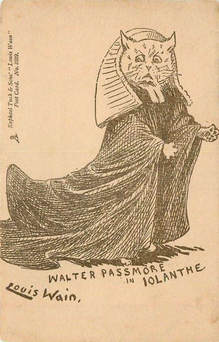 WALTER PASSMORE IN IOLANTHE (1902) Louis Wain