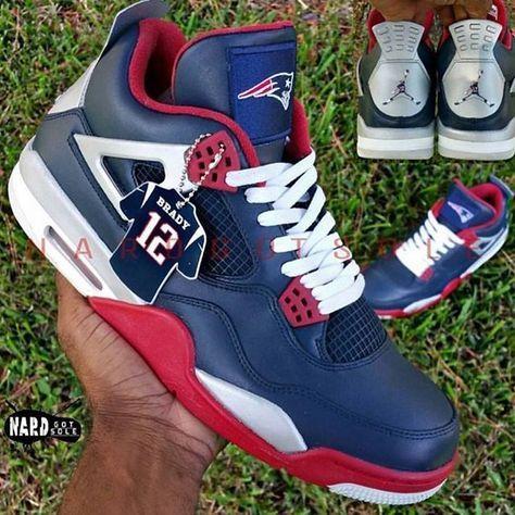 best sneakers 0b5de 8b2e8 Patriots 4 s  patsnation  retro4