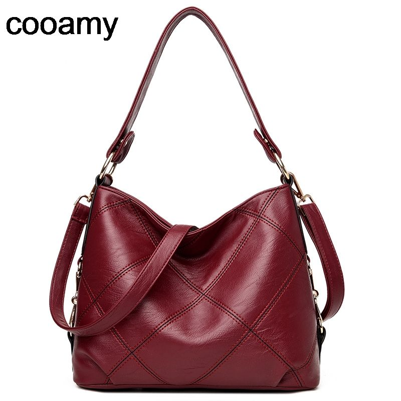 d26e110505c33 Find More Top-Handle Bags Information about Designer Women patchwork Bag  Leather Handbags Knitting Black