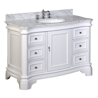 "Kitchen Bath Collection Katherine 48"" Single Bathroom Vanity Set"