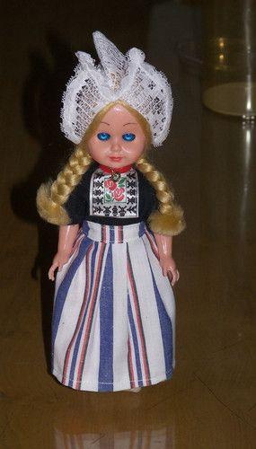 Vintage Doll - National Costume - Little Dutch Girl | eBay