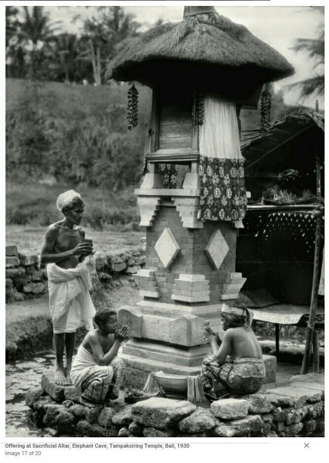 Foto Kuno Pura Besakih Tahun 1930 Sejarah dan perkembangan