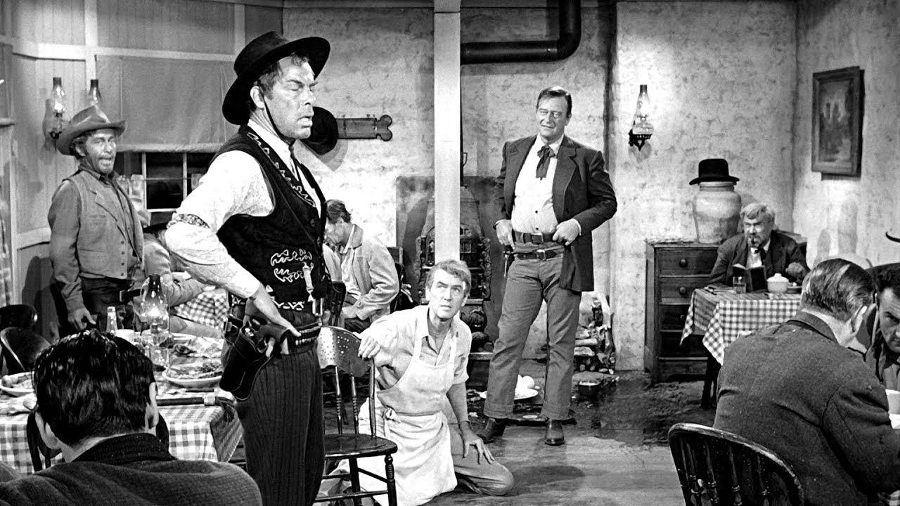 The Man Who Shot Liberty Valance Steak Youtube Lee Marvin John Wayne Western Movies