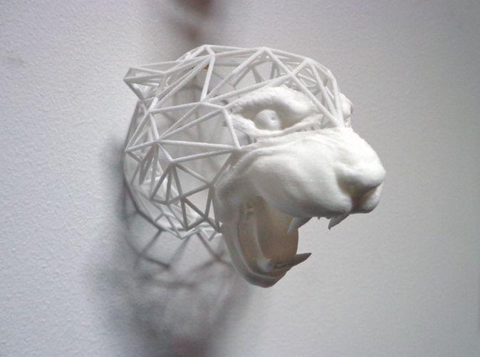 Wired Life Tiger Medium by Dotsan on 3d printing diy