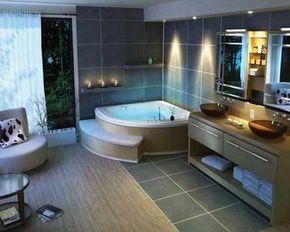 bagni moderni con vasca idromassaggio - Cerca con Google | ванные ...