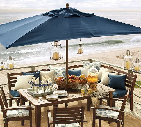 Dining By The Sea Love The Corner Bench For Kiddos Or Curling