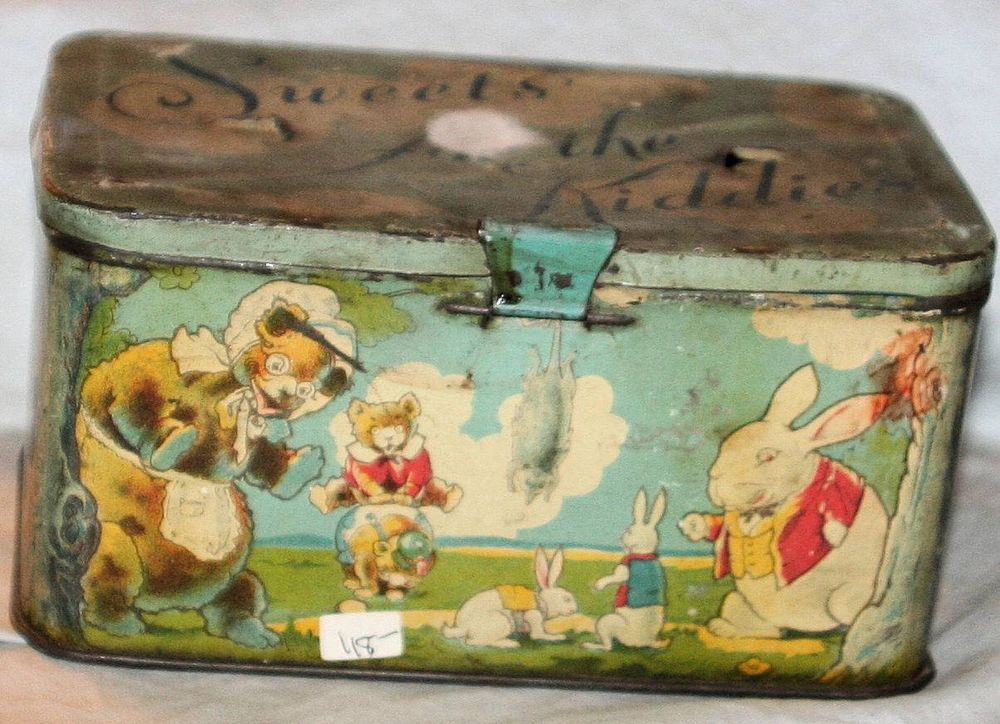 Antique Lunch tin