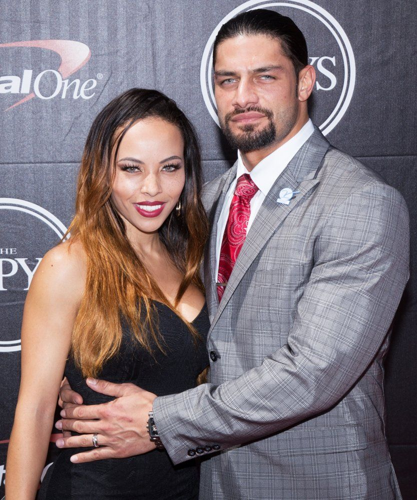 Roman Reigns Family Picture