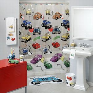 Selecting Appropriate Boys Bathroom Decor With Images Kids