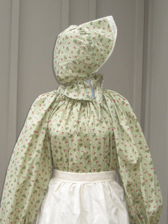 Prairie Pioneer Colonial Dress Costume Civil War Frontier SASS ...