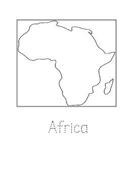 Captivating I Have A Created A Set Of The Continent Coloring Pages With Simple Black  Outline Maps