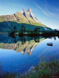 Otertind, Norway, reflection