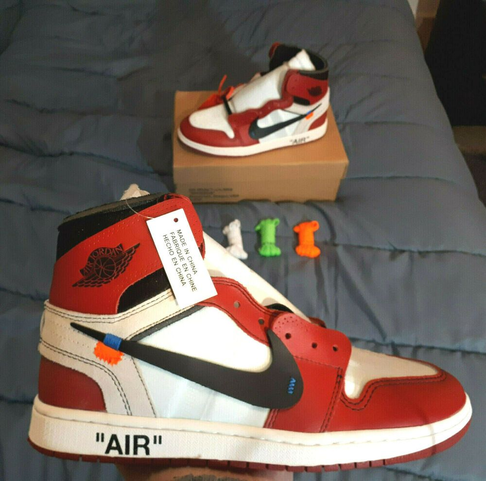 OFF-WHITE x Nike Air Jordan 1 Chicago