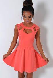 Image result for coral dresses