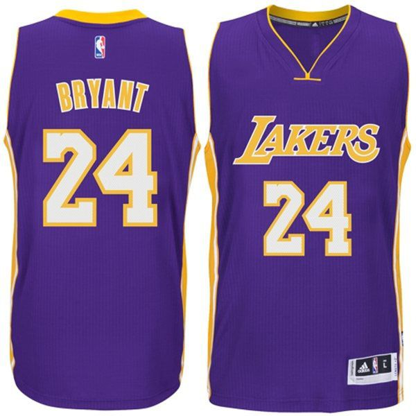 Los Angeles Lakers 24 Kobe Bryant Purple Authentic Jersey Los Angeles Lakers Kobe Bryant Los Angeles Kobe Bryant
